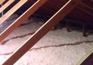 attic insulation blown-in-fiberglass