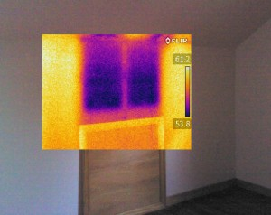 Thermography Missing Wall Insulation