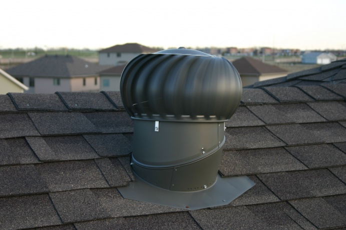 Turbine Roof Ventilators : Attic ventilation lancaster win home inspection